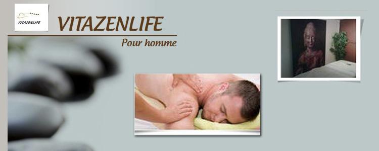 Massages Vitazenlife pour hommes