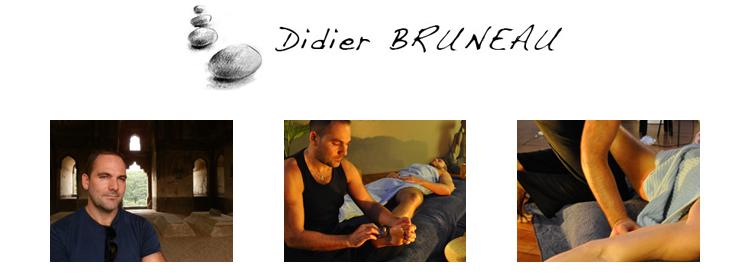 Les massages de Didier Bruneau
